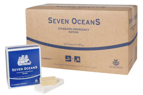 Ration de 500ml d'eau Seven OceanS
