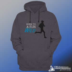 Born to Run Wild Fleece Hoodie - mens