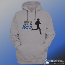 Load image into Gallery viewer, Born to Run Wild Fleece Hoodie - mens