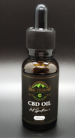 500 mg Full Spectrum Hemp Oil Tincture