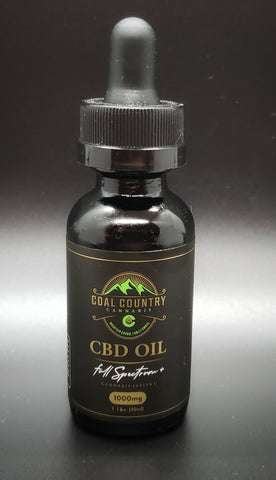 1000 mg Full Spectrum Hemp Oil Tincture