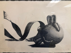 Signed Woodblock