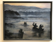 Canoeing Painting