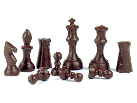 5 Best Silicone Chocolate Moulds - chess set