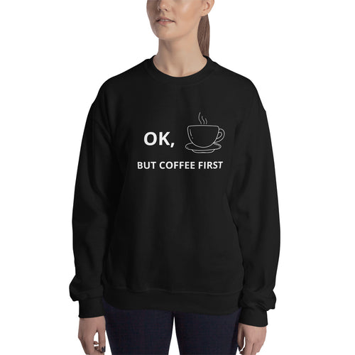 Coffee First Hoodie by Zesty Club - Zesty Club