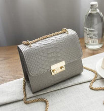 Load image into Gallery viewer, Zesty's 'Crocodile' Leather Shoulder Bag - Zesty Club