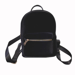 Zesty's Deluxe Soft Velvet Backpack - Zesty Club