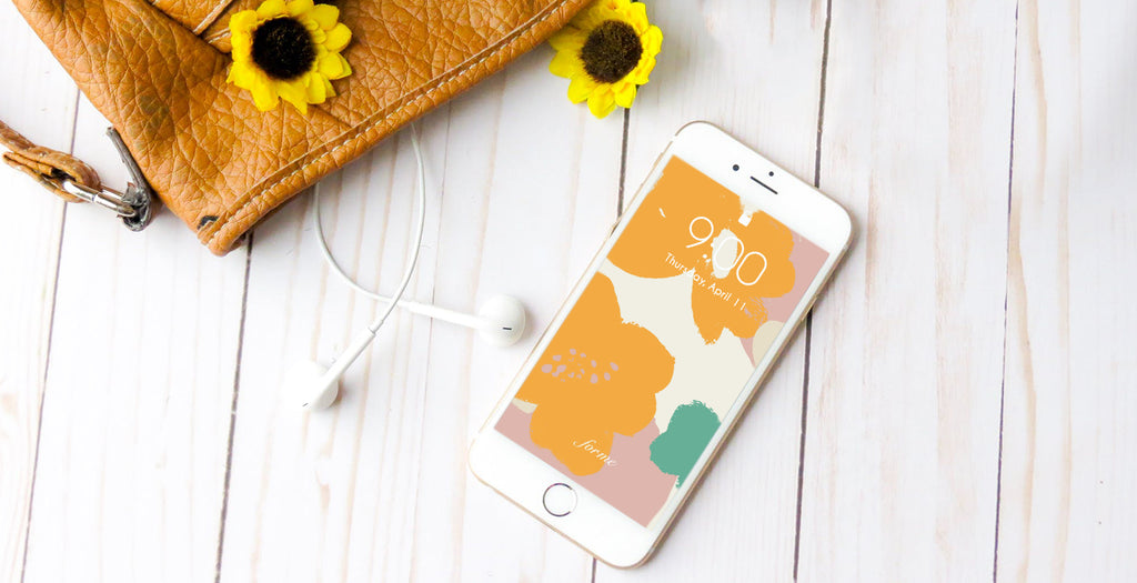 Floral, Prints, and More Pretty Wallpapers Your Phones Could Use