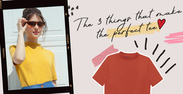 The 3 Things That Make the Perfect Tee