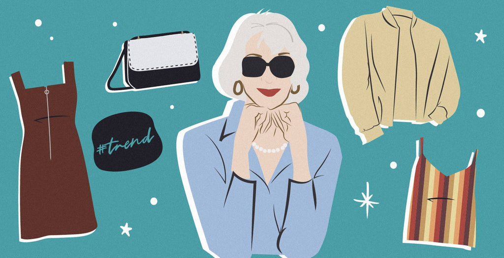 These Grandma Trends  are Making Their Way to 2019 and to Your Closets