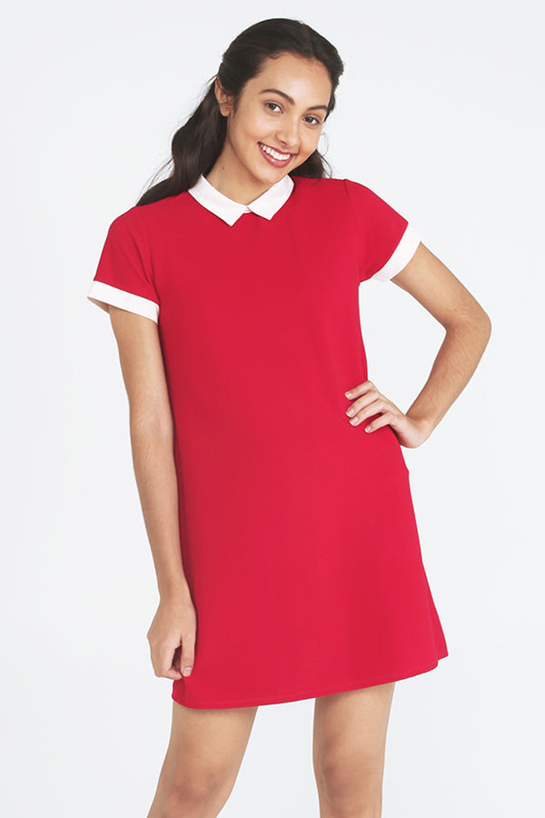 Collared Shift Dress