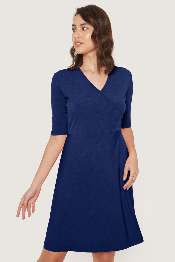 Closet Staples Rib Knit Wrap Dress
