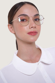 Round Retro Eyeglasses