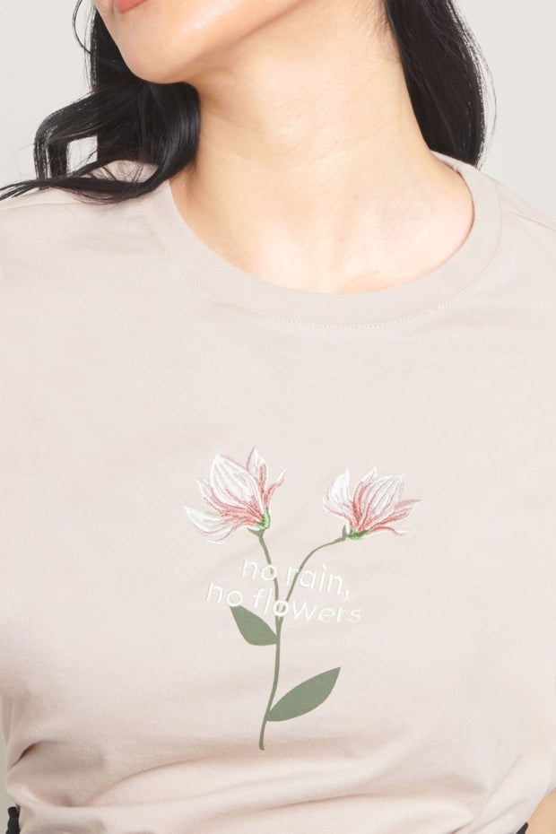 No Rain, No Flowers Graphic Tee