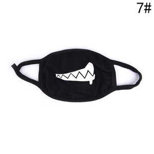 Face and Mouth Mask Black