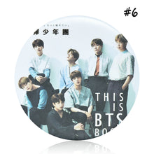 Load image into Gallery viewer, BTS Badge Pin 6