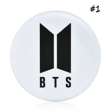 Load image into Gallery viewer, BTS Badge Pin 1