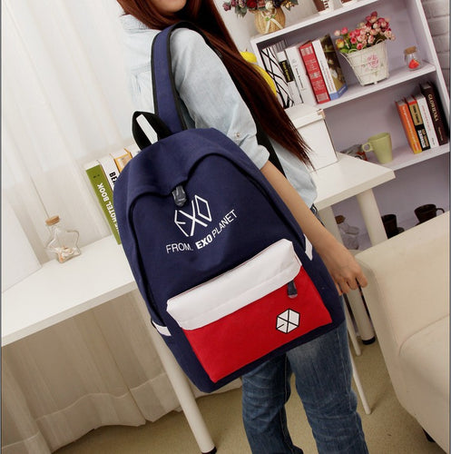 EXO backpack college bag