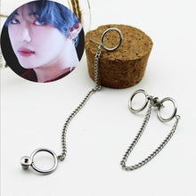Load image into Gallery viewer, BTS V Long Chain Earring