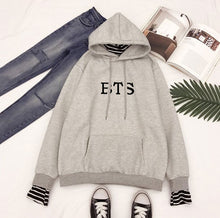 Load image into Gallery viewer, BTS Striped Hoodie