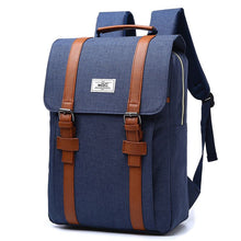 Load image into Gallery viewer, Vintage Canvas Backpack 8