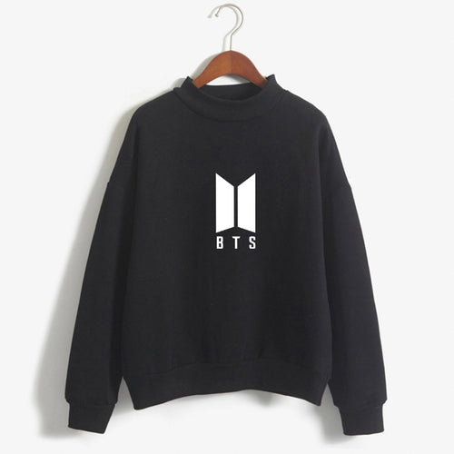 BTS Pullover Bright Colours White Logo