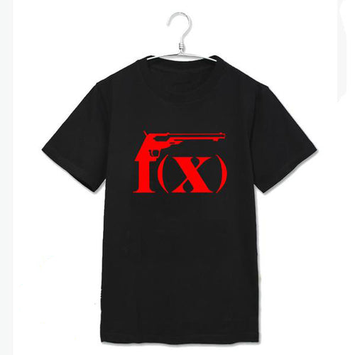 F(x) Logo T-Shirt Black