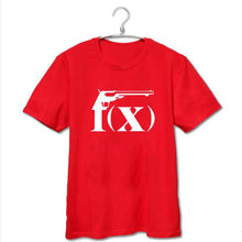 Load image into Gallery viewer, F(x) Logo T-Shirt Red
