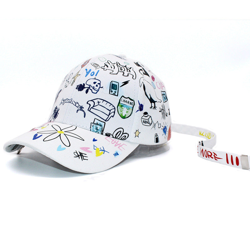 G-Dragon Graffiti Baseball Cap