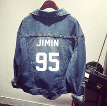 Load image into Gallery viewer, BTS Named Denim Jacket