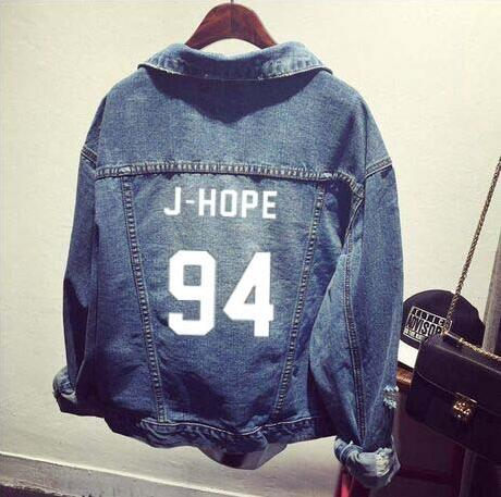 BTS Named Denim Jacket