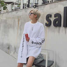 Load image into Gallery viewer, Oversized Long Sleeve Shirt White