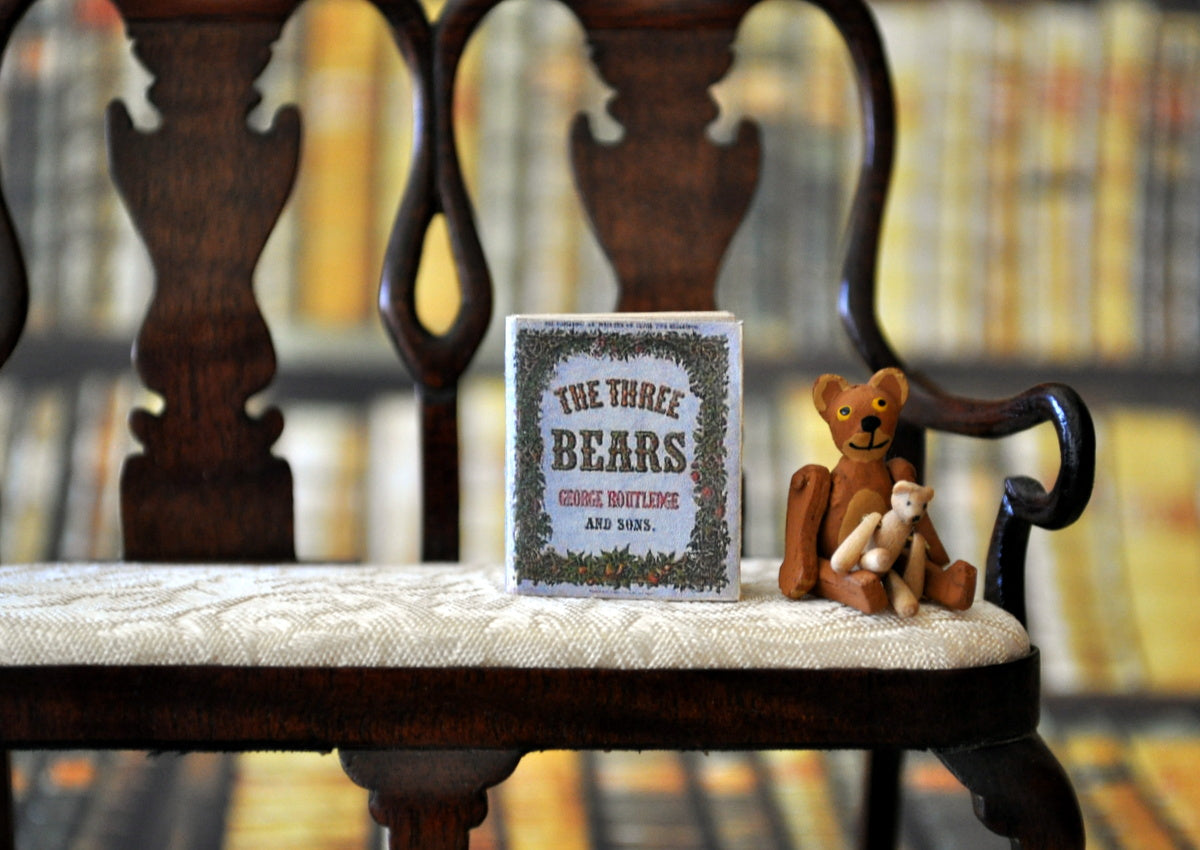 ESTATE TREASURE: Fully Printed Vintage Book - The Three Bears by Jean Day