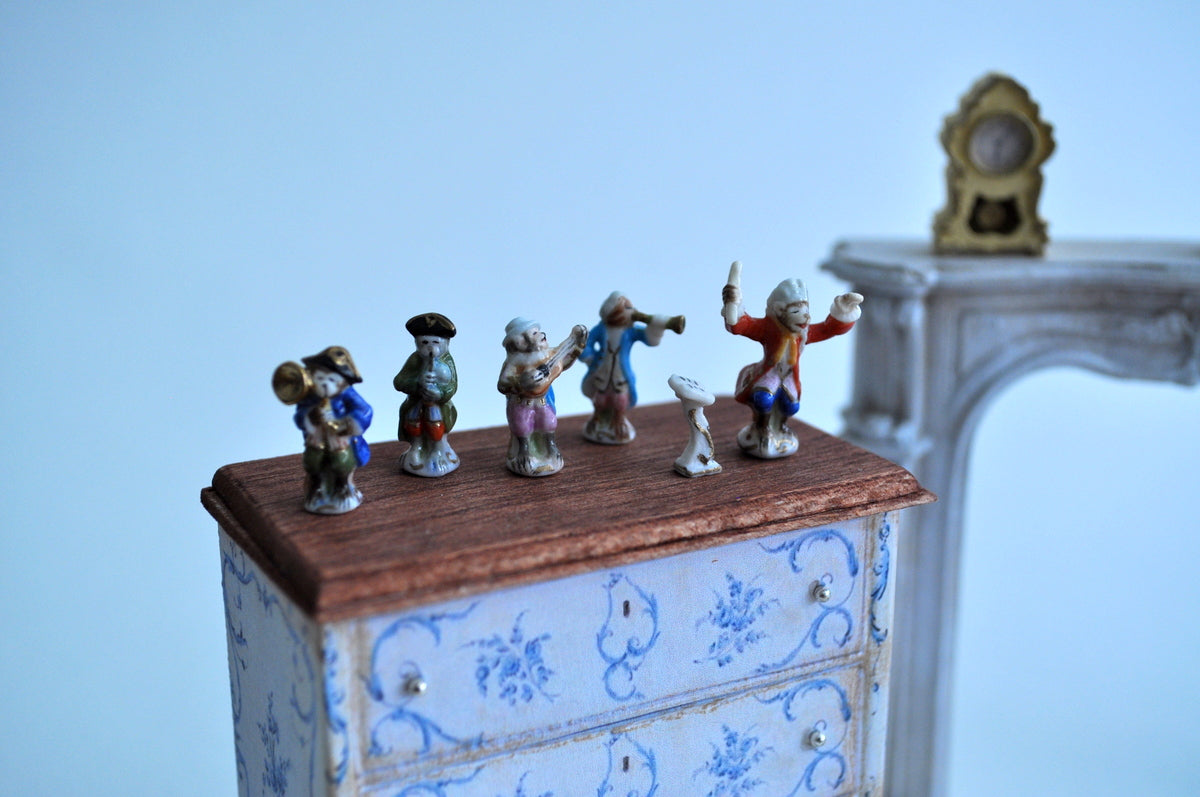 Meissen Monkey Orchestra by Elmarie Wood-Callander