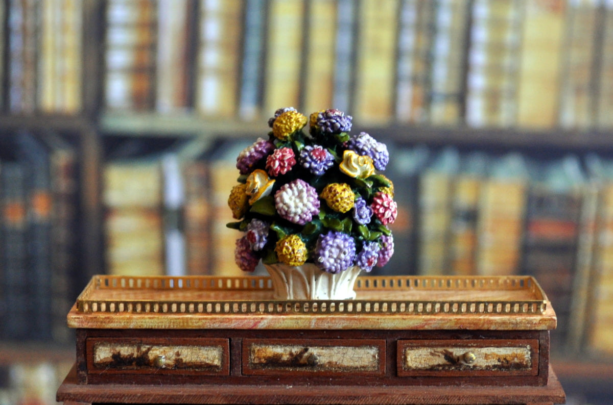 ESTATE TREASURE: Goebel - Floral Bouquet Pompadour