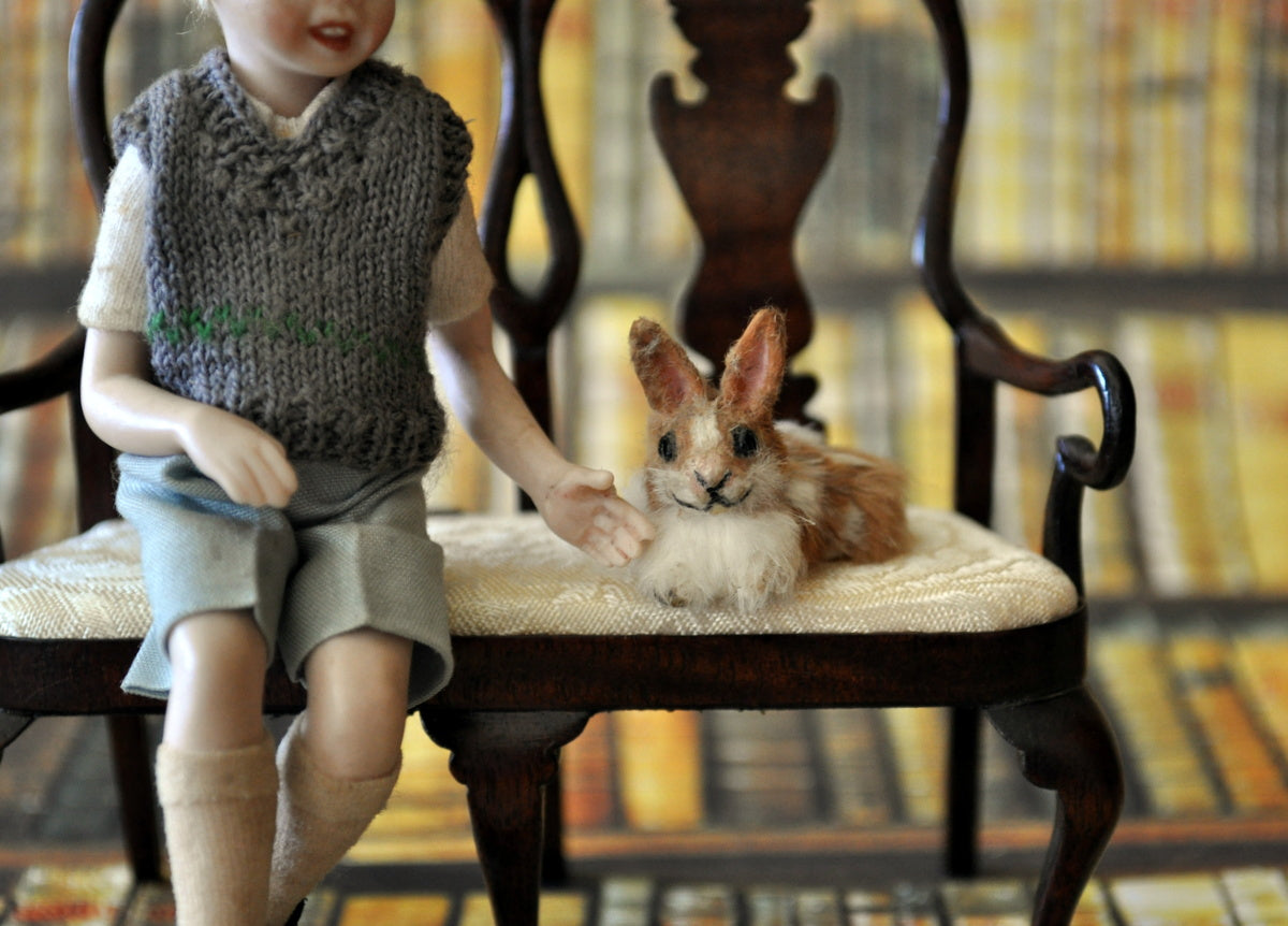 ESTATE TREASURE: Pet Bunny by Annie Willis - Fine Design