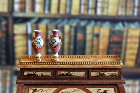 ESTATE TREASURE: Pair of Vases by Ron Benson