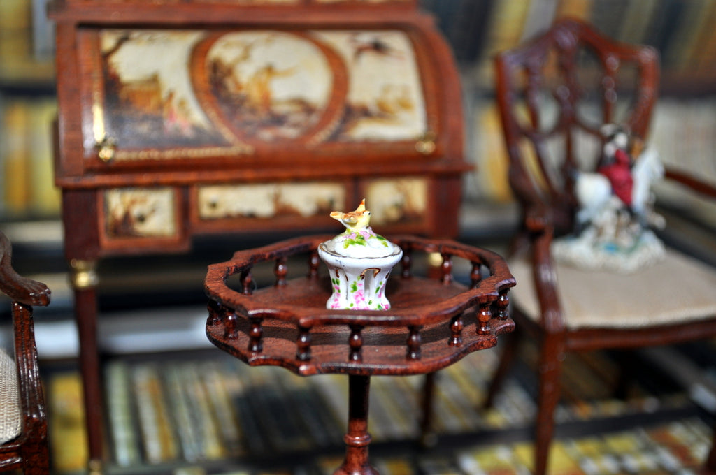 ESTATE TREASURE: Bird Candle Holder by Veronique Cornish
