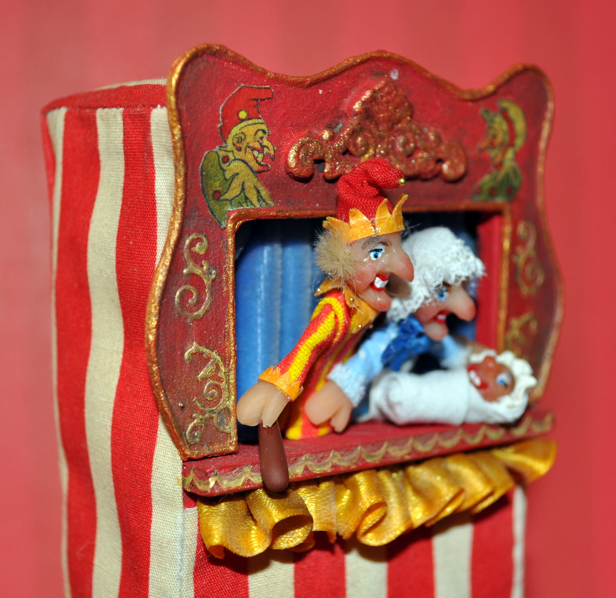 Punch & Judy Puppet Theatre II by Rika Moon