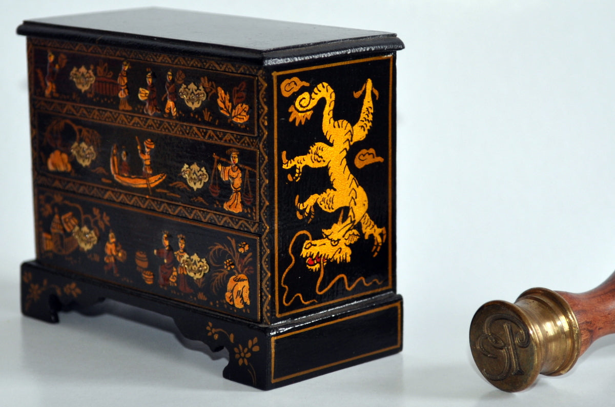 Estate Treasure: Chinoiserie Chest of Drawers by Judith Dunger
