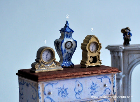 Decorative Porcelain Clock No. 2 by Elmarie Wood-Callander