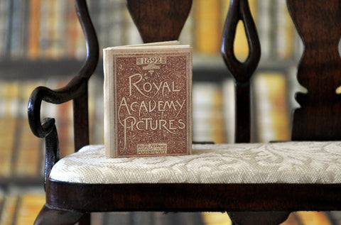 ESTATE TREASURE: Fully Printed Vintage Book - Royal Academy Pictures by Jean Day