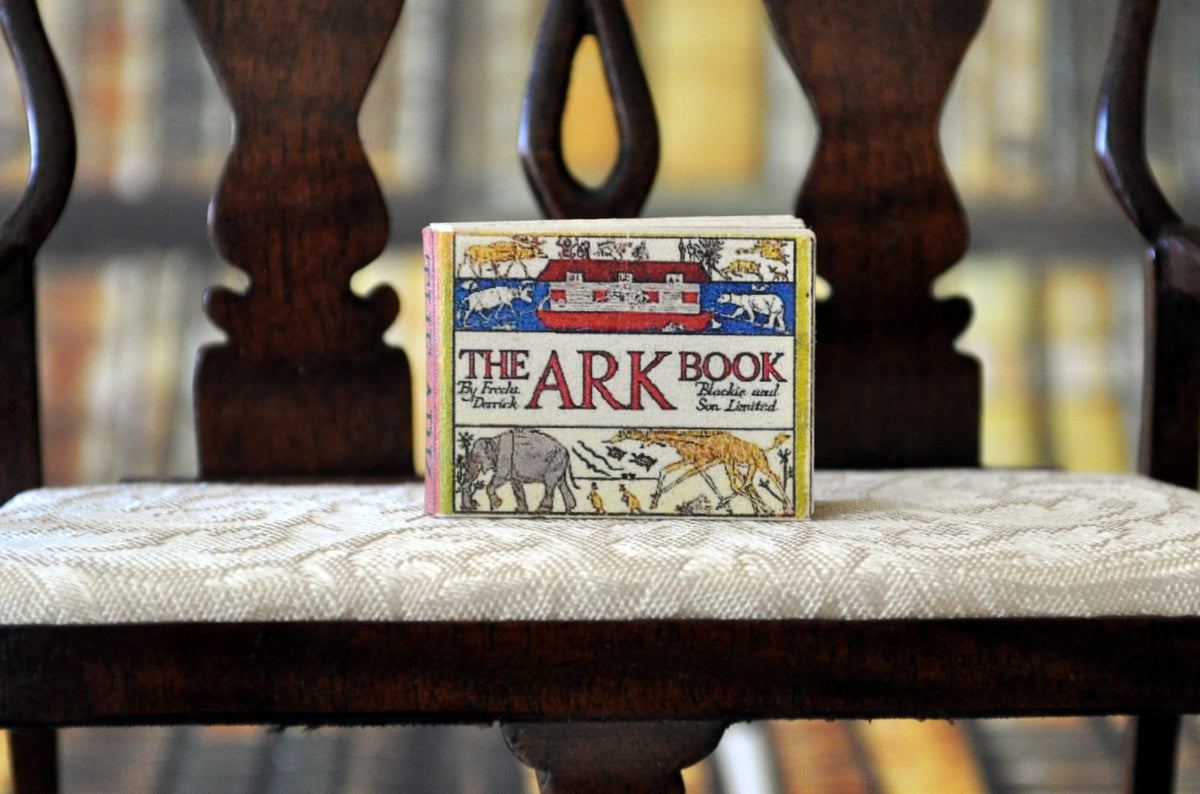 ESTATE TREASURE: Fully Printed Vintage Book - The Ark Book by Jean Day