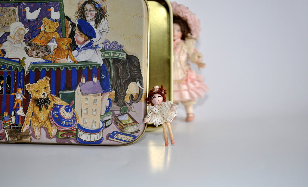 Estate Treasure: Ballerina Doll's Doll by Carol Spence