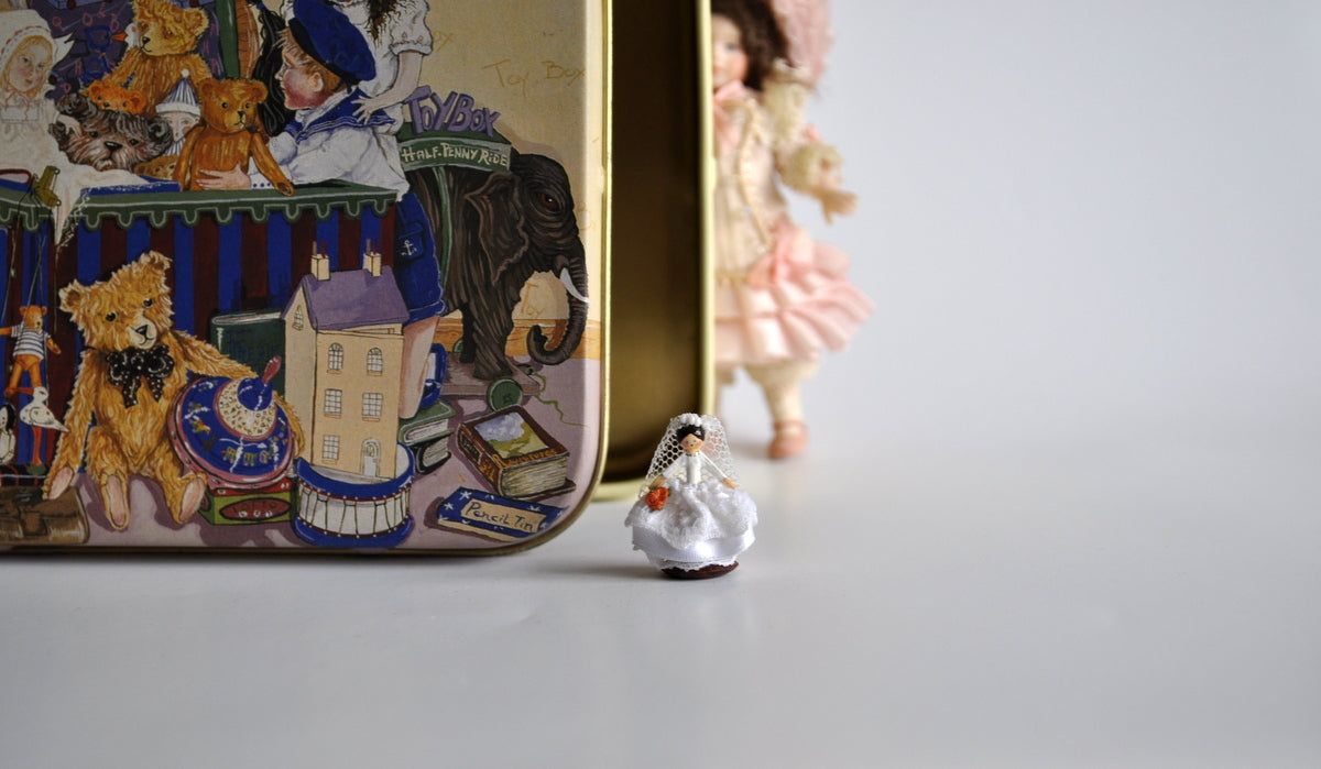 Estate Treasure: Tiny Toy Shop Bride Doll