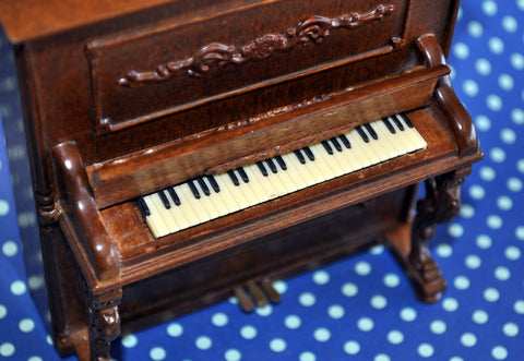 ESTATE TREASURE: Upright Piano by Bespaq