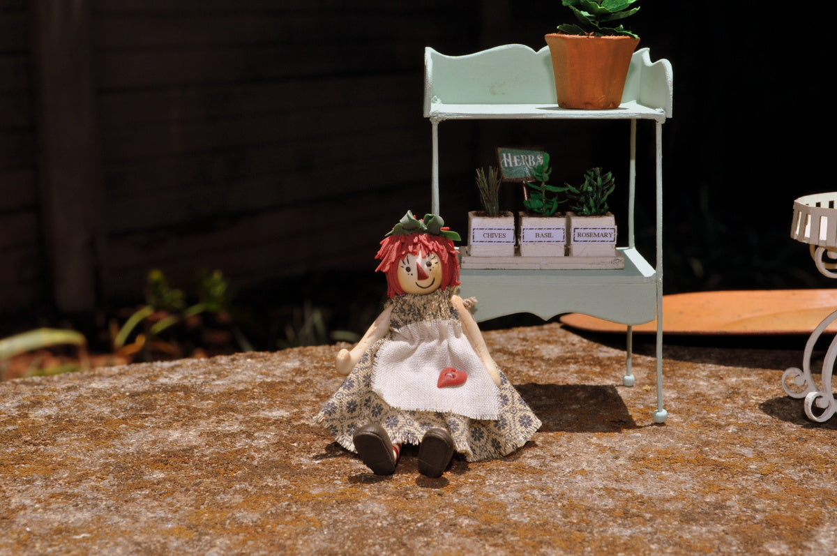 Large Raggedy Ann Doll by Manda Theart