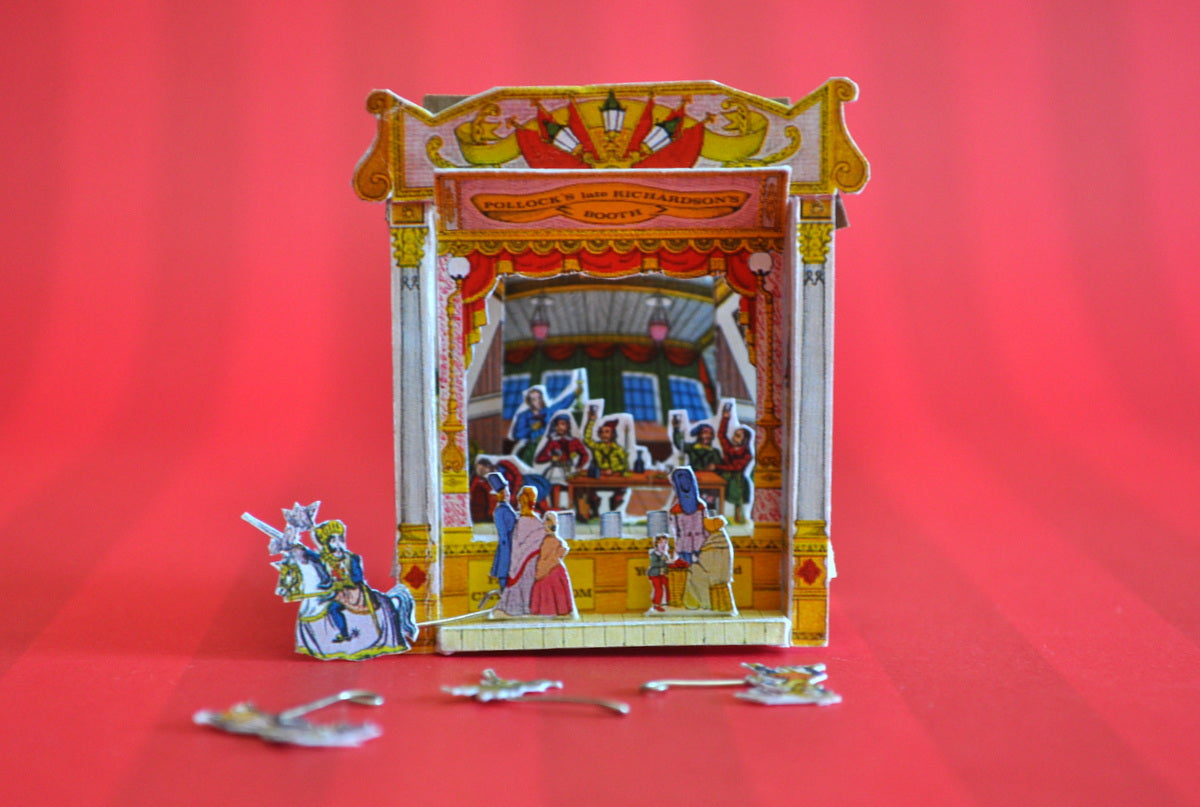 Toy Theatre #1 by Rika Moon