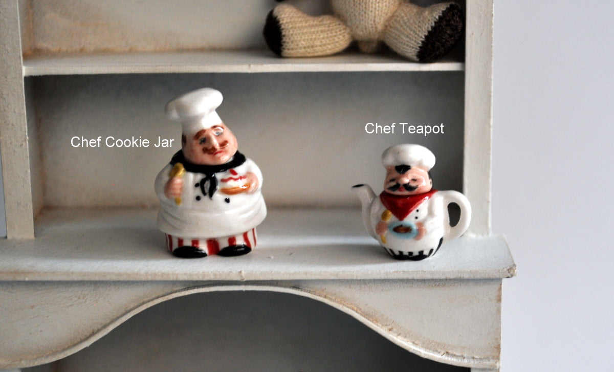 Chef Teapot by Elmarie Wood-Callander