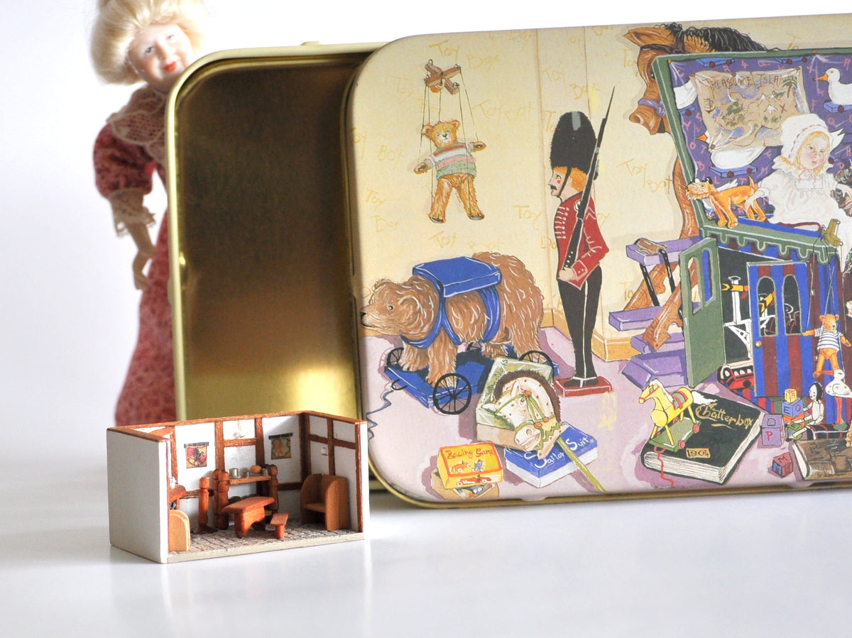 Estate Treasure: Toy Shop Room Box Scene